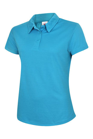 Uneek UC126 - Ladies Ultra Cool Polo Shirt Wizard Printers