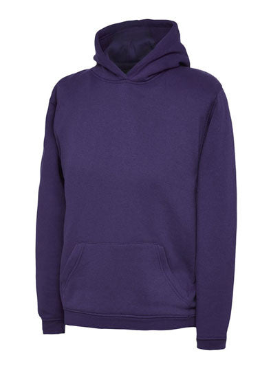 Uneek UC503 - Kids Hooded Sweatshirt Wizard Printers