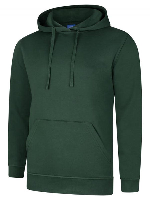 Uneek UC509 - Deluxe Hooded Sweatshirt Wizard Printers