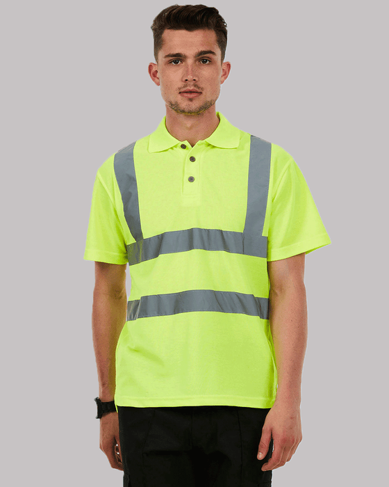 Uneek UC805 - High Visibility Polo Shirt Wizard Printers