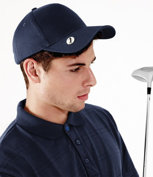 Beechfield BB185 - Pro-Style Ball Mark Golf Cap Wizard Printers