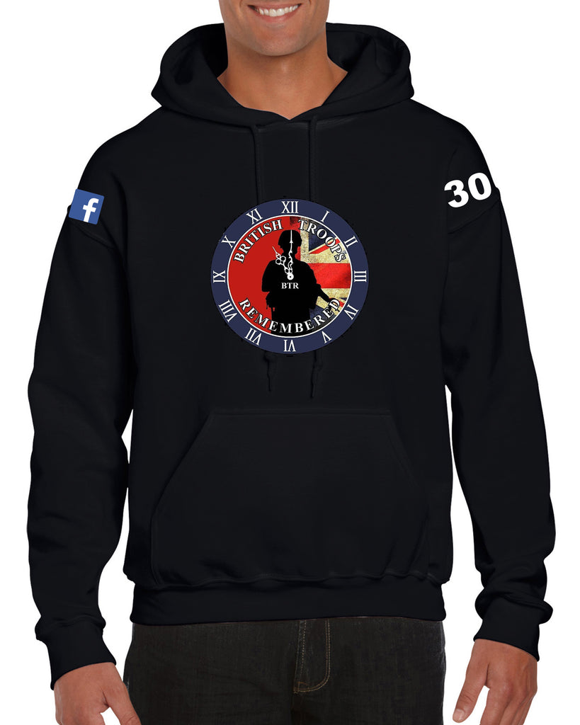 British Troops Heavy Blend Hooded Sweatshirt - GD57 Wizard Printers