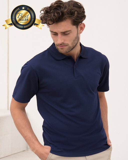 Henbury H475 - Wicking Piqué Polo Shirt Wizard Printers