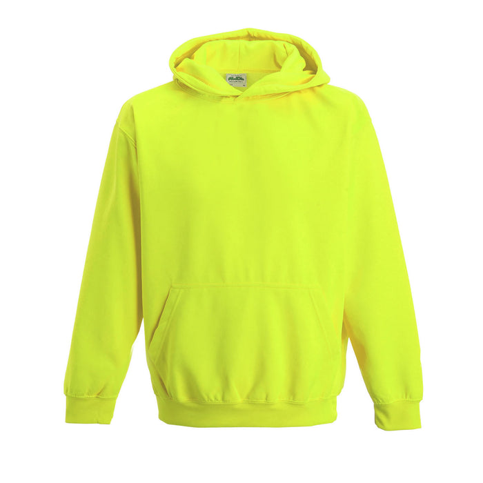 Just Hoods JH004B - Electric Coloured Kids Hoodie Wizard Printers