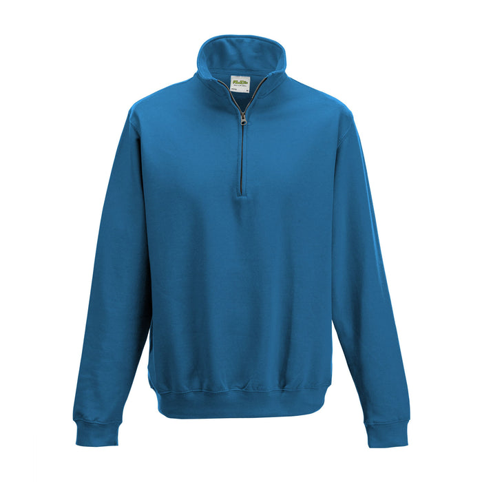 Just Hoods JH046 - Zip Neck Sweatshirt Wizard Printers