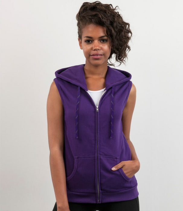 Just Hoods JH057F - Girlie Sleeveless Zoodie Wizard Printers