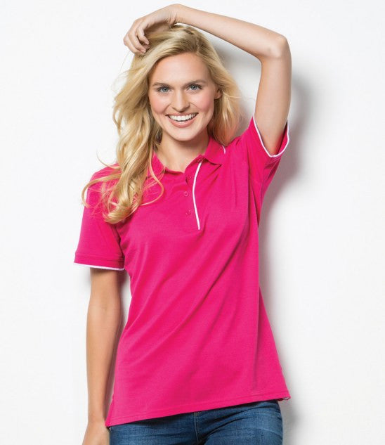 Kustom Kit K748 - Ladies Essential Poly/Cotton Pique Polo Shirt Wizard Printers
