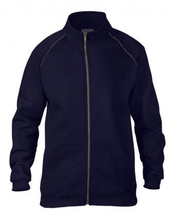 Gildan GD62 - Premium Cotton Full Zip Sweatshirt Wizard Printers