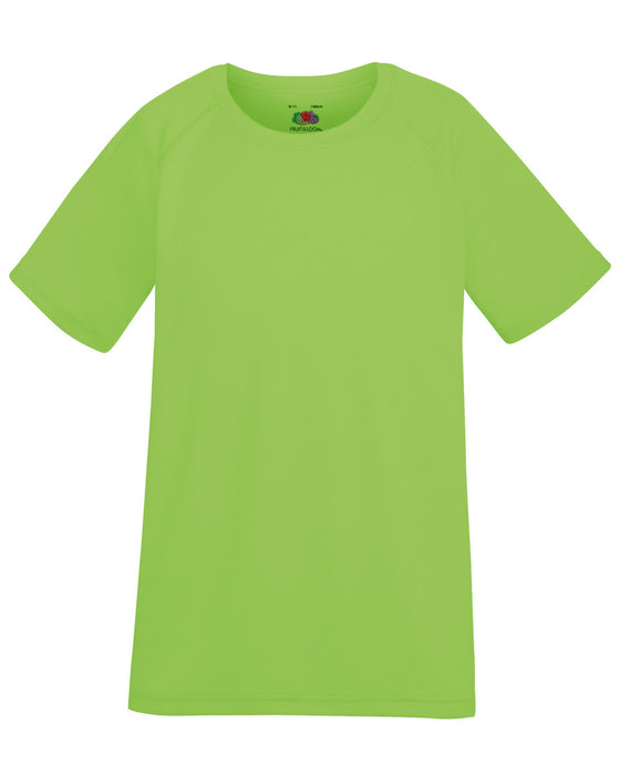 Fruit of the Loom SS210B - Kids Performance T Shirt Wizard Printers
