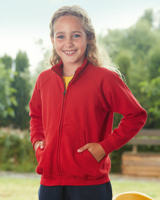 Fruit of the Loom SS92B - Kids Classic Sweat Jacket Wizard Printers