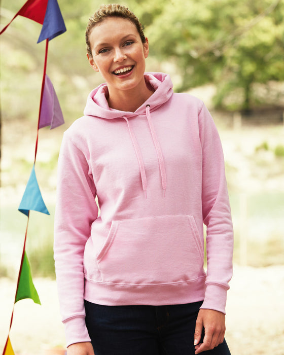 Fruit of the Loom SS801 - Ladies Fit Hooded Sweatshirt Wizard Printers