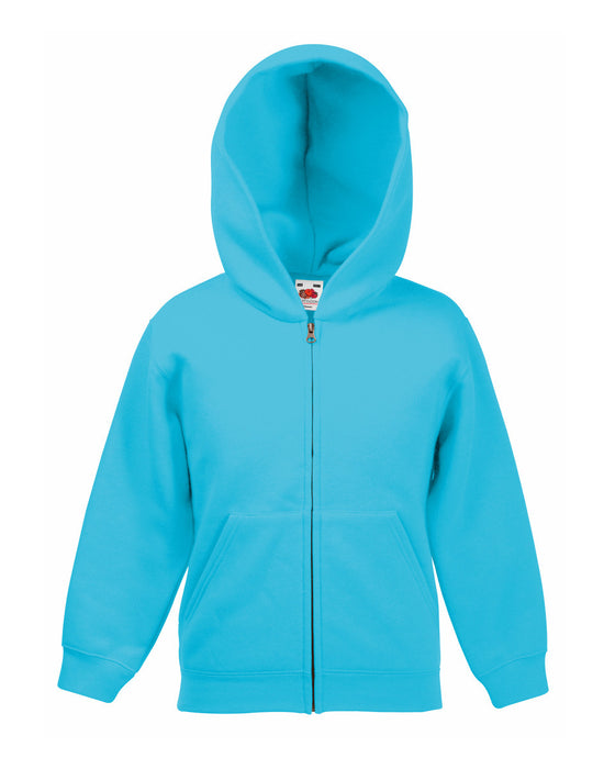 Kids Classic Zip Hooded Sweatshirt - SS16B Wizard Printers