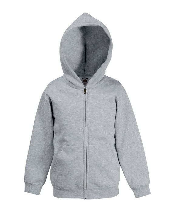 Fruit of the Loom SS16B - Kids Classic Zip Hooded Sweatshirt Wizard Printers