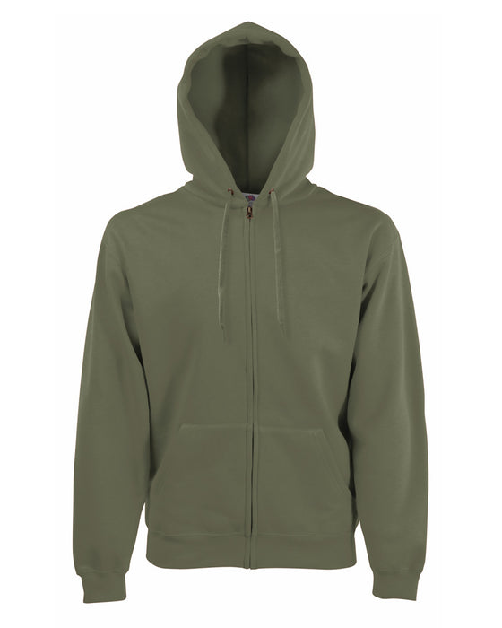 Classic Zip Hooded Sweatshirt - SS16 Wizard Printers