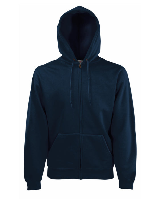 Fruit of the Loom SS16 - Classic Zip Hooded Sweatshirt Wizard Printers