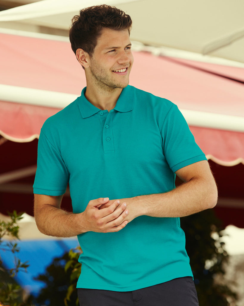 SS11 - Fruit of the Loom Poly Cotton Pique Polo Shirt