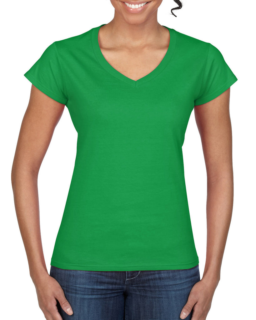 GD78 - Gildan SoftStyle Ladies V Neck T-Shirt - Wizard Printers - 8