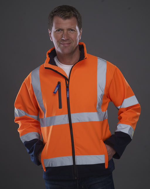 Yoko YK206 - High Visibility Soft Shell Jacket Wizard Printers