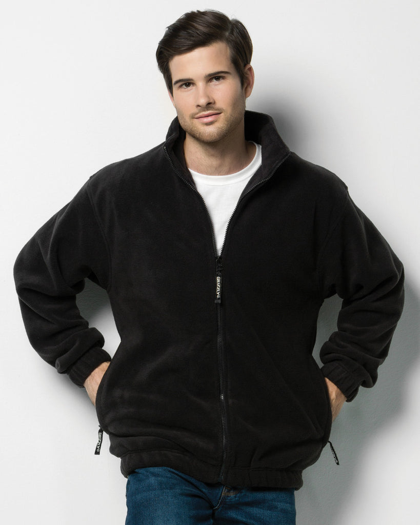 Mens Full Zip Active Fleece - K903