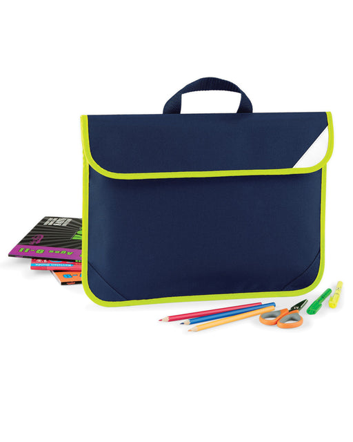 Quadra Enhanced-Viz Book Bag - QD452 Wizard Printers