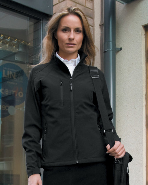 RS128F - Ladies Base Layer Soft Shell Jacket