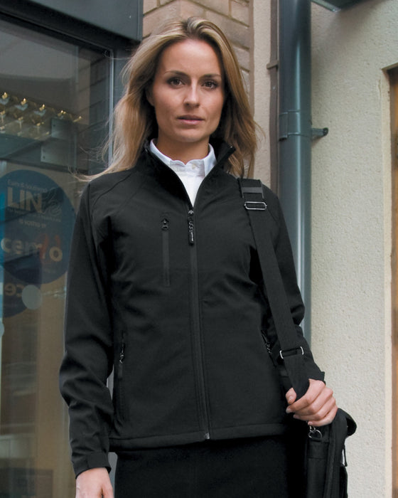 Result RS128F - Ladies Base Layer Soft Shell Jacket Wizard Printers