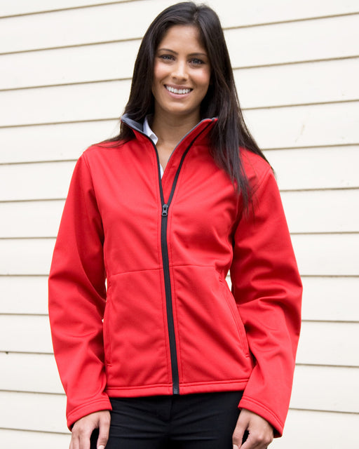 Core Ladies Soft Shell Jacket - RS209F Wizard Printers
