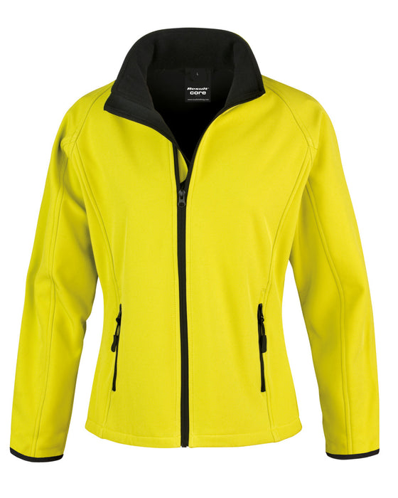 Result RS231F - Core Ladies Printable Soft Shell Jacket Wizard Printers