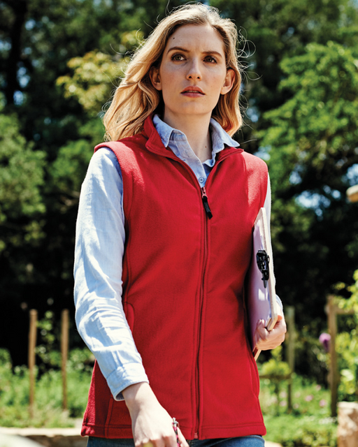 Regatta RG116 - Ladies Micro Fleece Bodywarmer Wizard Printers