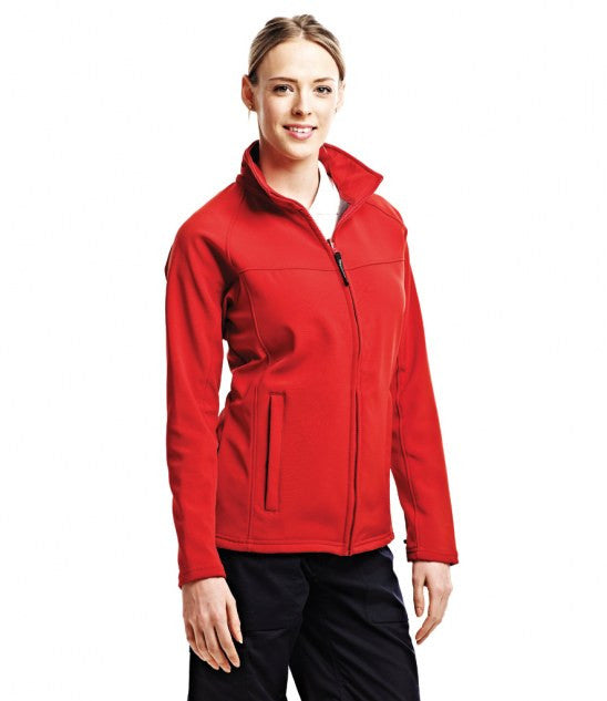 Regatta RG151 - Ladies Uproar Soft Shell Jacket Wizard Printers