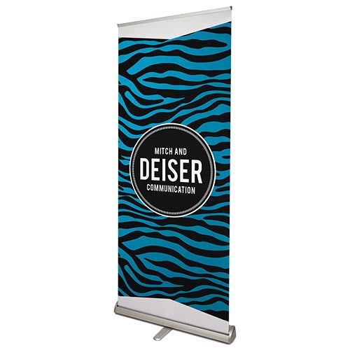 Wizard Printers Signs Premium Roller Banner  85 x 200cm Wizard Printers