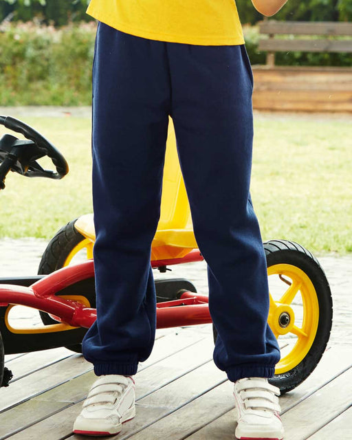 Fruit of the Loom SS15B - Kids Elasticated Hem Jog Pants Wizard Printers