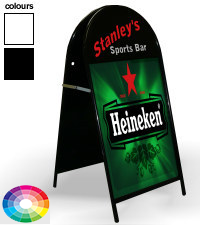Large Curved Top Pavement Sign - 508mm x 762mm