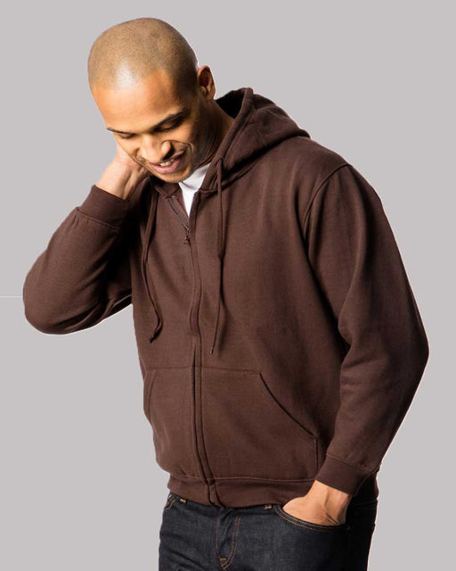Full Zip Hooded Sweatshirt - UC504 Wizard Printers