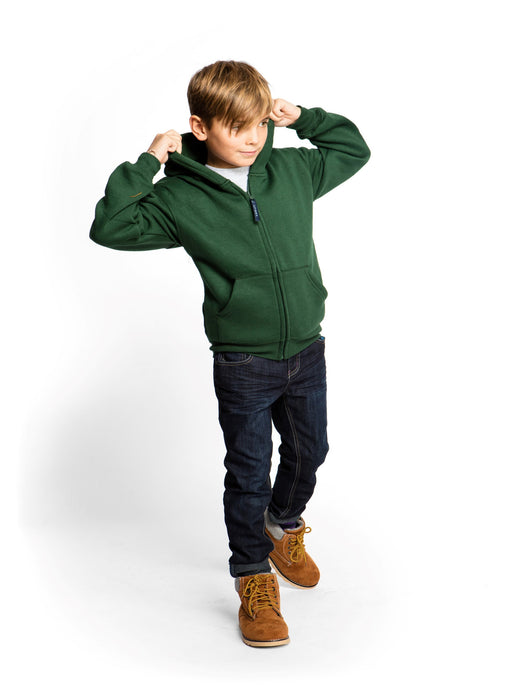 Kids Classic Full Zip Hooded Sweatshirt - UC506 Wizard Printers