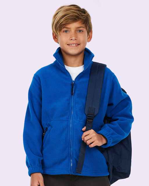 Childrens Full Zip Micro Fleece Jacket - UC603 Wizard Printers