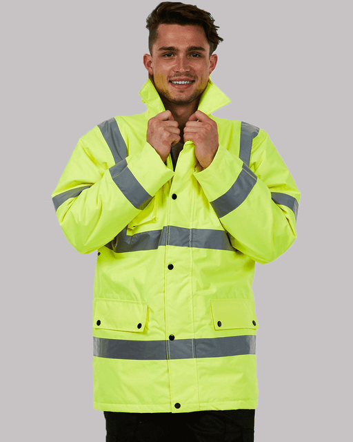 Uneek UC803 - High Visibility Road Safety Jacket Wizard Printers