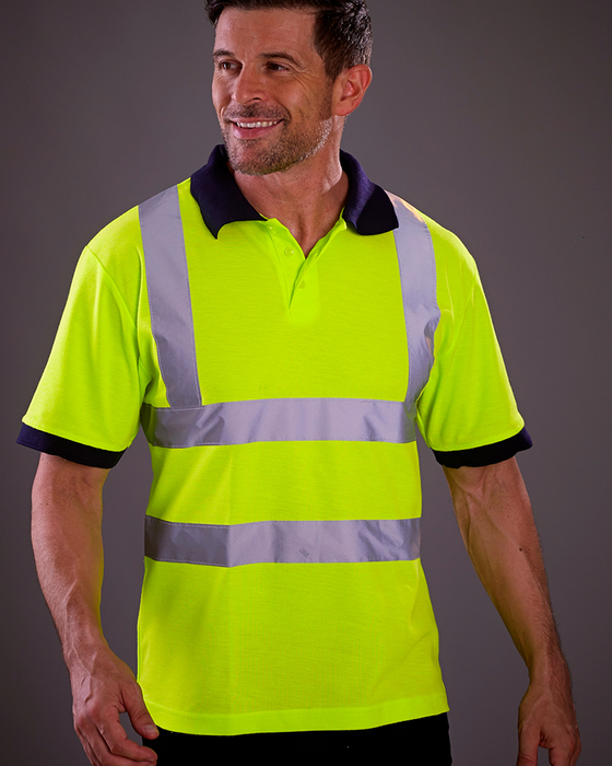 Yoko YK015 - High Visibility Polo Shirt Wizard Printers