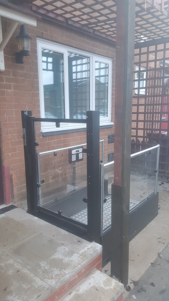 'Pollock Steplift Install In Longsight, Manchester City Council'