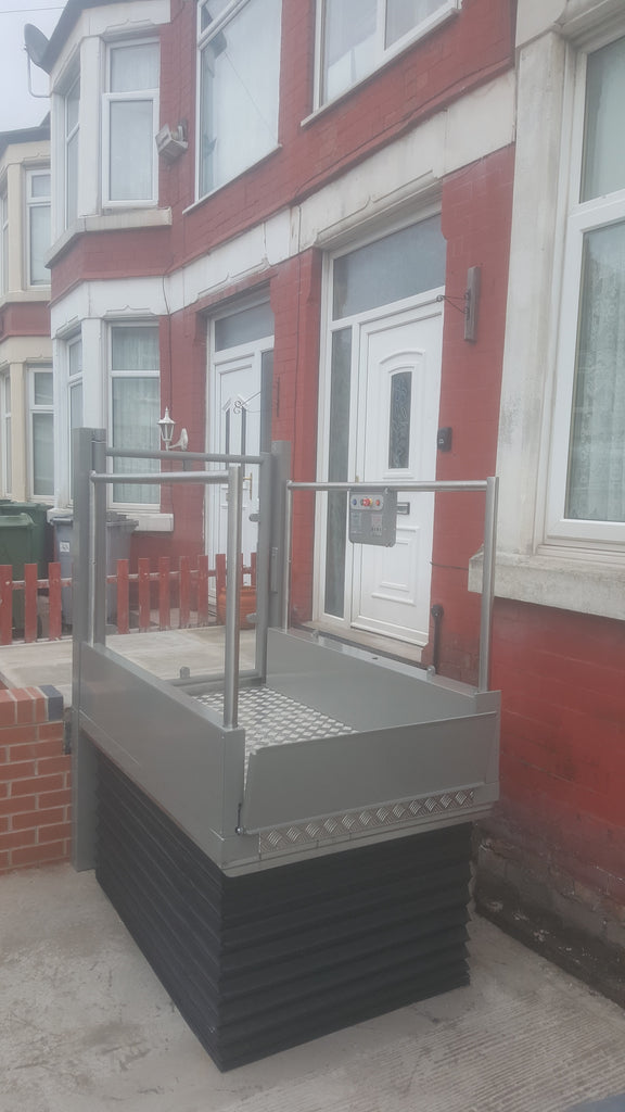 Pollock Step Lift Install in Poulton, Wirral