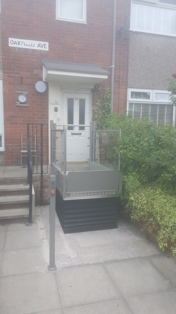 Pollock Step Lift Install in Manchester