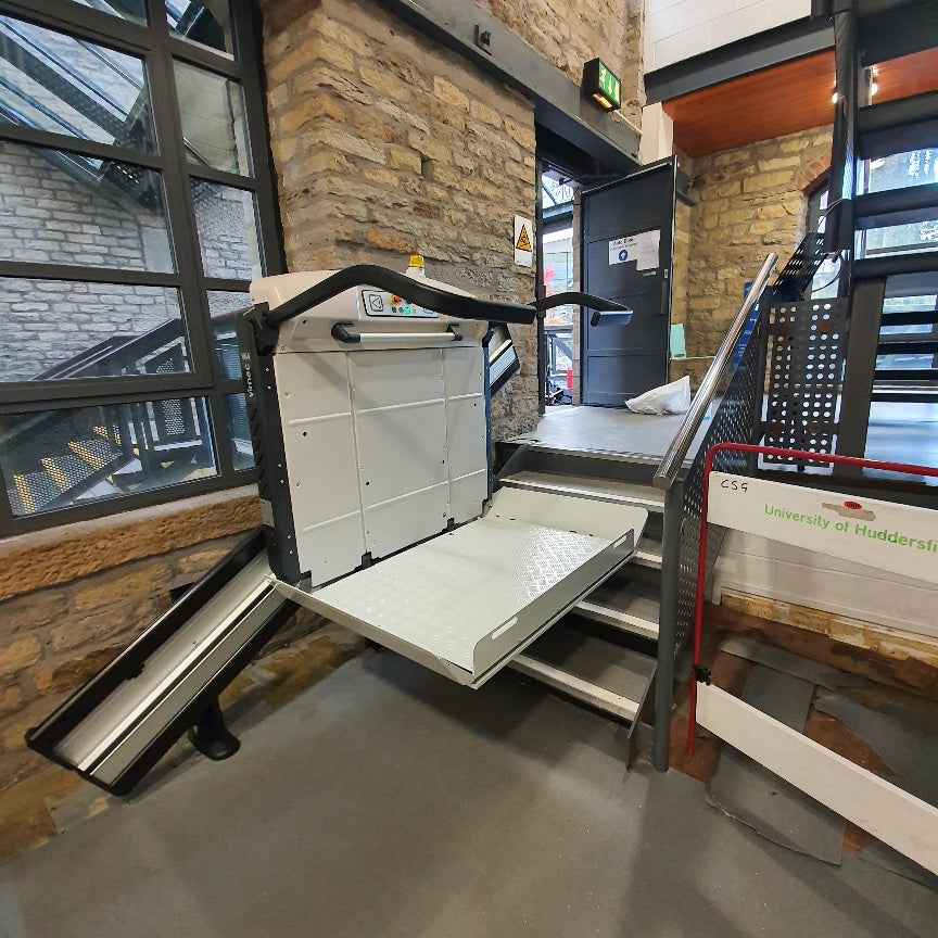Recent Vimec V64 Wheelchair Platform Lift Installed in Huddersfield