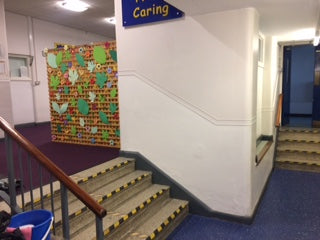 Recent Vimec V64 Wheelchair Platform Lift at Merton Bank Primary School in St Helens for DDA Access.