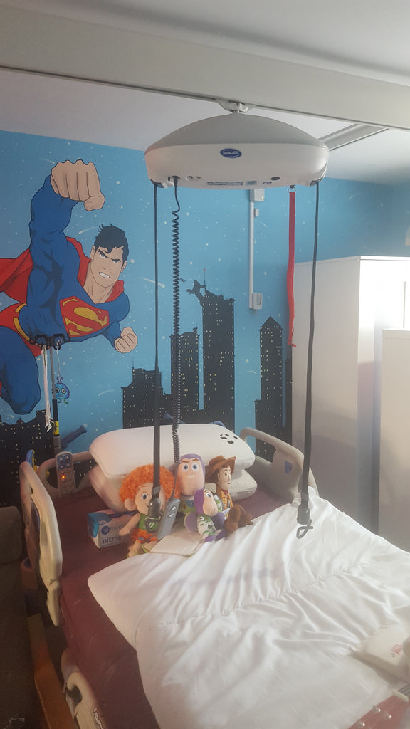 Invacare Robin Hoist - X-Y System Install on Behalf of Liverpool Council
