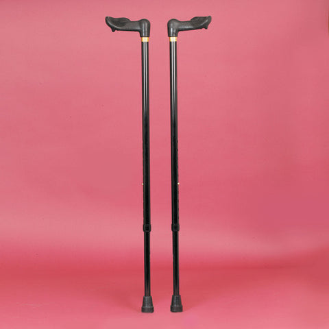 Coloured Comfy Grip Walking Sticks