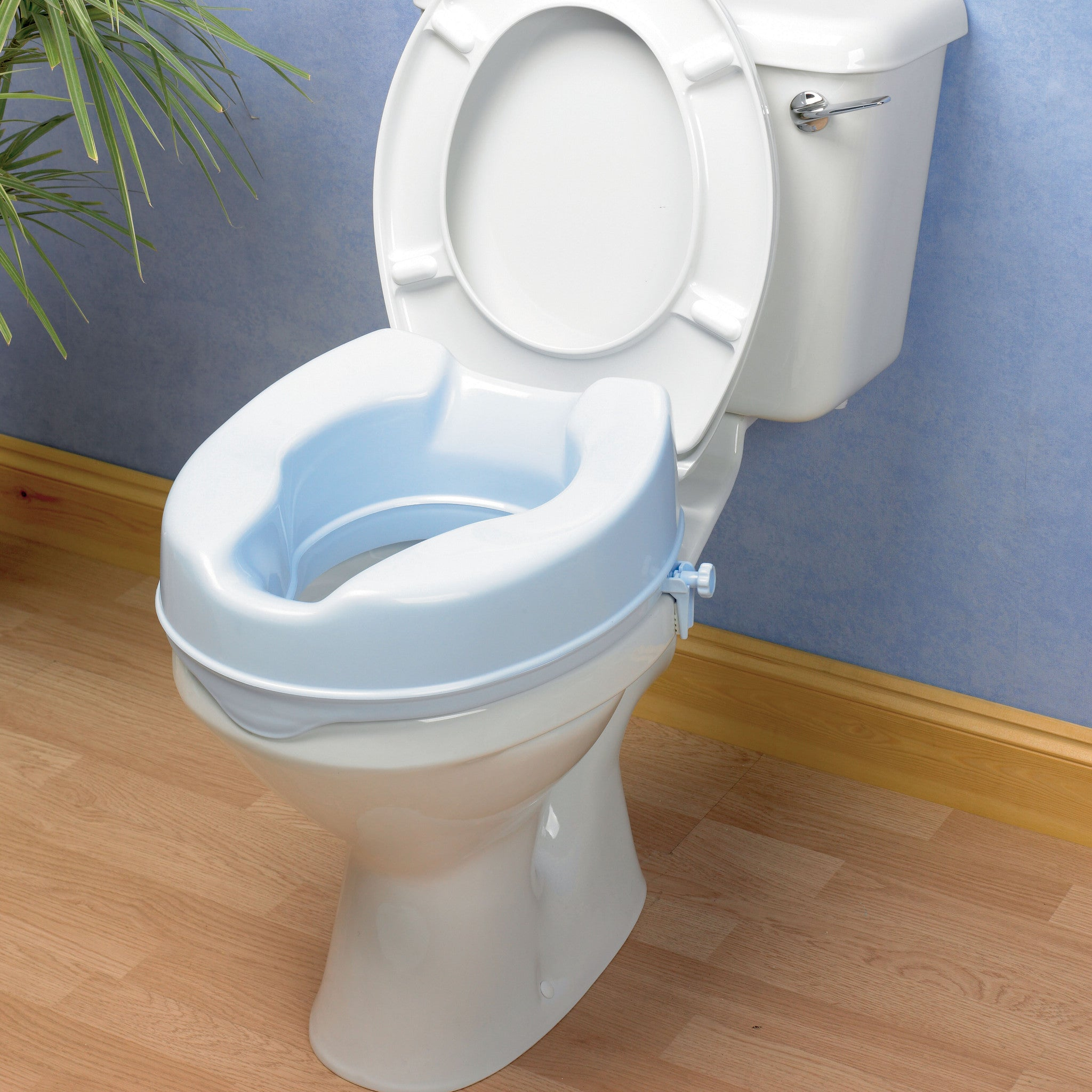 Performance Health Savannah Raised Toilet Seat Aline Mobility