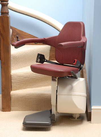 Freelift Recon and New Van Gogh & Rembrandt Curved Stairlifts
