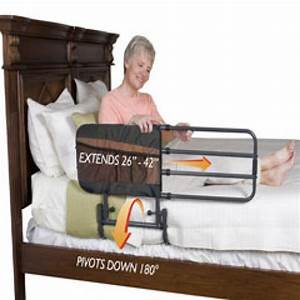 Able 2 EZ Adjustable Bed Rail With Pouch PR60231