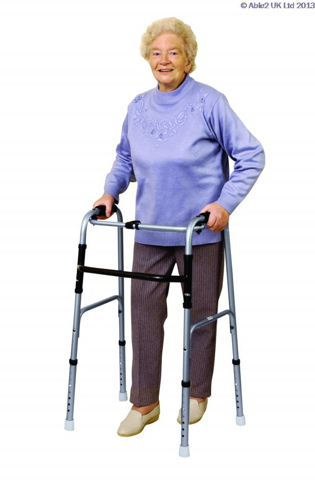 Able 2 Deluxe Folding Walker PR30180