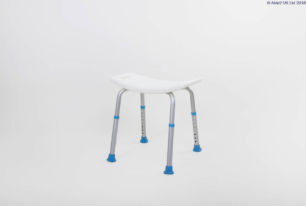 Able2 Atlantis Contour Shower Stool Without Back PR46043